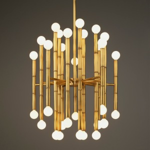 654 Jonathan Adler 30 Light Brass
