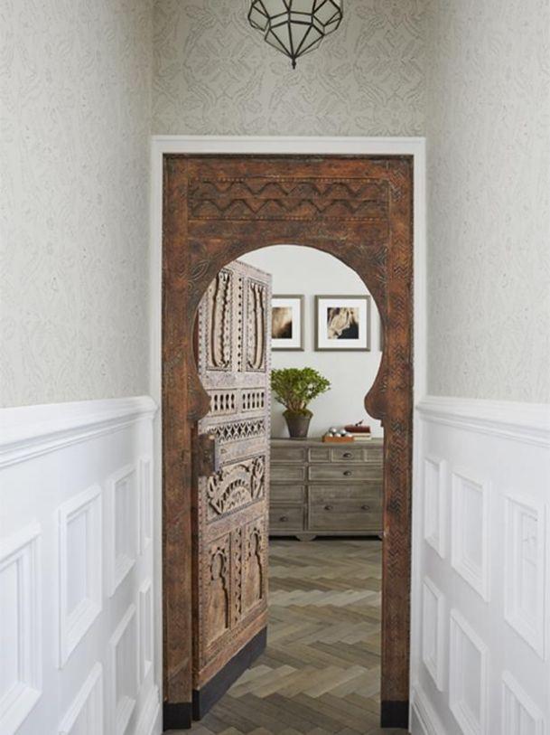 Entry to bedroom - Morrancan Door