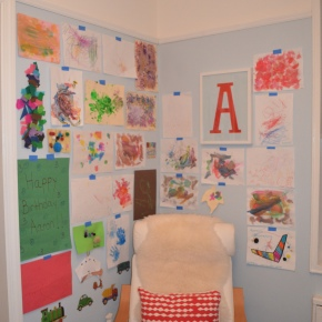 Inspired Spaces: Kids ArtWall